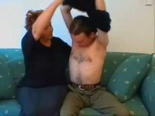 BBW Granny Home Sex Episode